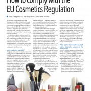 How to comply with the EU cosmetics regulation 1